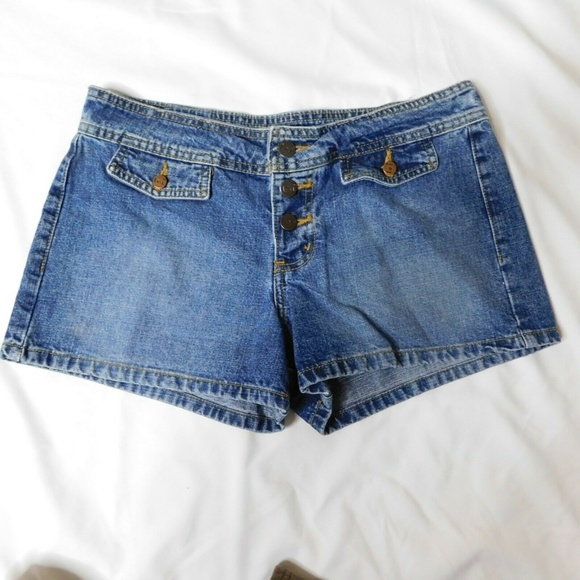 lei Pants - Lei Button Fly Jean Shorts Size 9